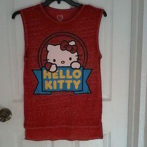 02ba14eff Sanrio Tops | Mighty Fine Hello Kitty Rainbow Tshirt | Poshmark